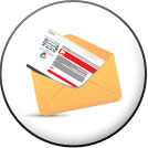 Create Nonprofit Email Marketing Mailers Icon